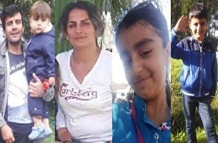 دریا ۵ عضو خانواده سردشتی و آرزوهایشان را بلعید